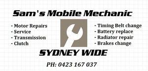 SAMS MOBILE MECHANIC Sydney City Inner Sydney Preview