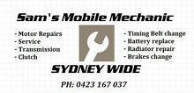 SAMS MOBILE MECHANIC Sydney City Inner Sydney Preview
