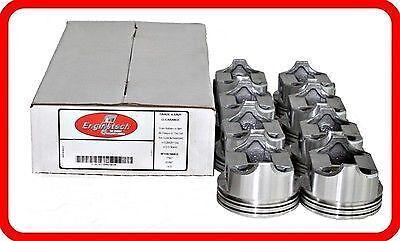 63-68 Ford 289 4.7L OHV V8 4-BBL  (8)FLAT-TOP PISTONS  STD 020 030 040 060
