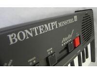 BONTEMPI MINSTREL KEYBOARD RETRO