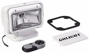 Go-Light vehicle spot light with remote control.         NEW
