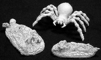 Reaper Miniatures 02784: Giant Spider & Victims](Spider Victim)