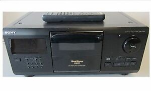SONY 200 CD Player/Changer & stores 200cd inside c/w remote