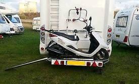 Cobra pro motorhome scooter rack