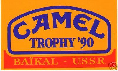 Sticker Autocollant  CAMEL TROPHU BAÏKAL U.S.S.R