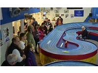 Pay us a visit on Tuesday or Thursday evenings between 6.30 and 9. Discover Slot Car Racing!
