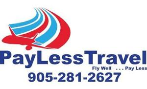Cheapest Air Fares to Anywhere in World *Call-905-281-2627*