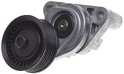 Front and back view of a belt tensioner.