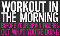 Rise and Shine Workouts! It's 6 AM  at Aura Fitness Brampton!