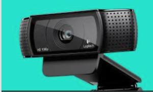 recherche webcam logitech 920