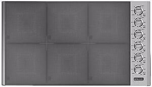 Plaque de cuisson grise 36'', Induction, Vitrocéramique, Brigade
