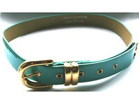 FRENCH CONNECTION Ladies Turquoise Belt