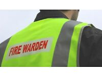 Fire marshal 1/2 Day £55