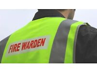 Fire warden ( Fire Marshal ) - Half Day Training £70