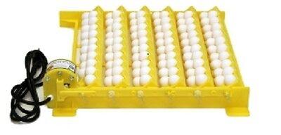 GQF 1610 Automatic Egg Turner with 6 Universal and 6 Quail Racks for Eggs   (Quail Egg Racks)
