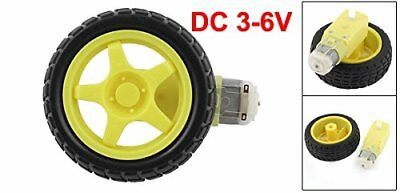Plastic Robot Arduino Smart Car Robot Tire Wheel With Dc 3-6v Gear Motor Nt