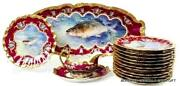 Antique Fish Platter