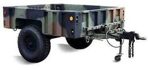 H1 Hummer Military Trailer for Sale