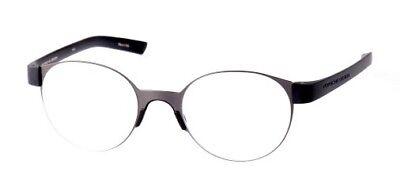 Porsche Design Ready made Reading Glasses P8812 ADark Gun 51-21 - (Made Glasses)