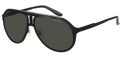 Carrera Men's Black Ruthenium Pilot Sunglasses w/ Grey Lens - 100S 0HKQ NR