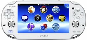 White Limited Edition Ps Vita w/ 3 games. Open to Trades