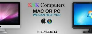 KSK Computer Repair Mac PC LCD Repair VirusClean Data Recovery