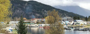 Home with 360 Ft of Waterfront on Sicamous Channel