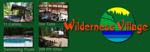 Canadian Made Trailer and or Wilderness Village Membership+Share