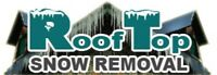 ROOFTOP SNOW REMOVAL & ICE DAM TREATMENTS