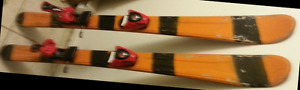 Ski Skis Carve Slalom Twin Tip 130cm fixations Salomon C608