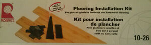 INSTALLATION KIT FOR LAMINATE & HARDWOOD FLOORS. NEW IN BOX!