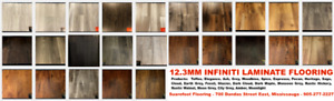 BLOWOUT LAMINATE SALE $1.55SF! 12.3mm INFINITI LAMINATE FLOORING