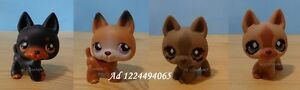 Littlest Pet Shop LPS Puppy Dogs German Shepperd
