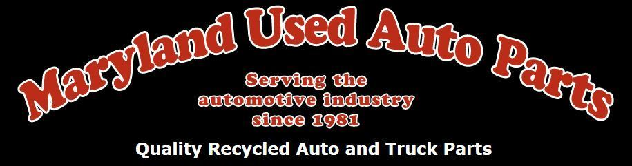 Maryland Used Auto Parts