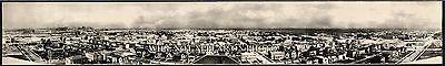 "1910 Gary Indiana Vintage Panoramic Photograph 6 1/2"" x 42"" Panorama"