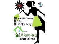 HOUSE CLEANER. DOMESTIC/OFFICE/END OF TENANCY. ONLY £10 PH!