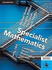 Cambridge Mathematical Methods 1&2, Cambridge Specialist... 1&2