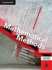 Mathematical Methods Cambridge senior units 1&2 maths