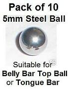 Spare Belly Bars Balls