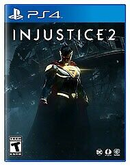 As new injustice 2 PS4 mint