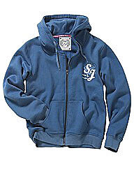 NEW JOE BROWNS Ladies Fleece Jacket/Hoody Size 10-30 Blue/Pink/Cream Designer