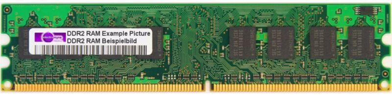 256mb Hynix Ddr2-400 RAM Pc2-3200u Cl3 1rx16 Hymp532u64p6-e3 Ab-A Memory Modules