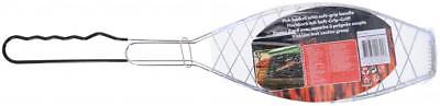 BBQ Collection Outdoor Cooking Barbecue Fish Holder Basket Utensil Tool