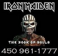 IRON MAIDEN : SECTIONS ROUGES !!!