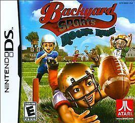 Backyard Sports: Rookie Rush (Nintendo DS, 2010) BRAND NEW FACTORY SEALED