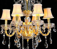 Beautiful chandeliers and sconces