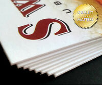 Business Cards (extra heavy) - Request a free sample pack!
