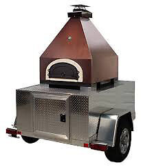 Outdoor Pizza Oven MOBILE TRAILER