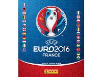 Panini Stickers for Swap Euro 2016