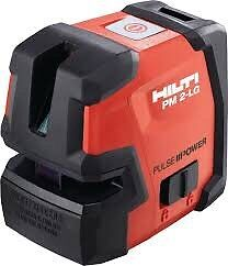Brand new hilti pulse power lasers in stock PD-C & PM 2-LG